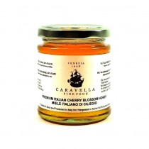 caravella premium cherry blossom honey 250 g