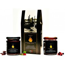 "caravella gourmet gift "" coffee + chocolate + forest fruits"""