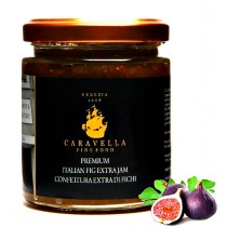 Premium PURPLE FIGS EXTRA JAM Fresh Fruit Organic 100% Made in Italy 215 g Gourmet Conserve & Preserve directly from VENICE